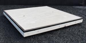 Hoekrand betonplaten