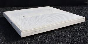 Traanplaat betonplaten